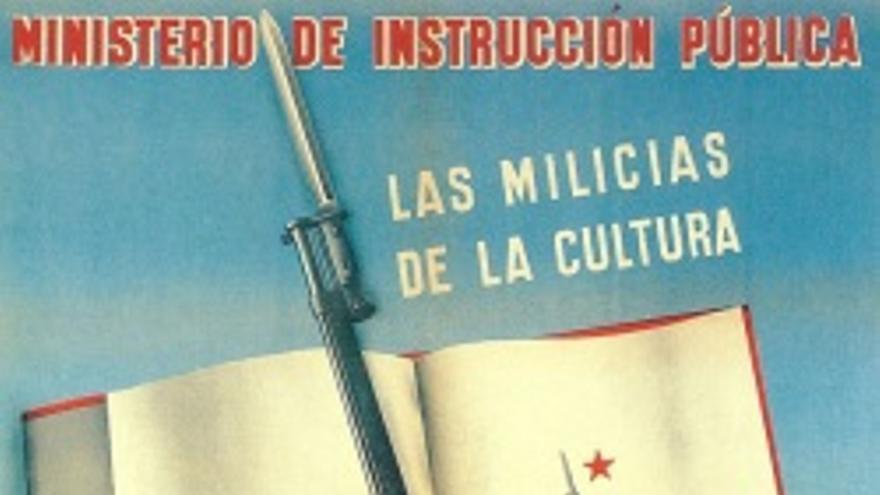 Una cartilla escolar antifascista se cuela entre lo mejor del arte español