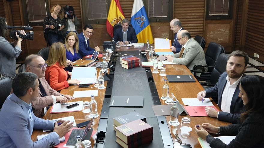 Consejo de Gobierno celebrado en Las Palmas