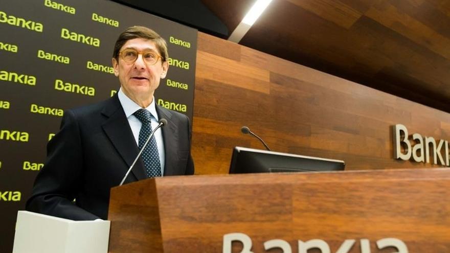 """Goirigolzarri dice que la lógica financiera de la fusión Bankia-BMN """"dependerá de las condiciones"""""""
