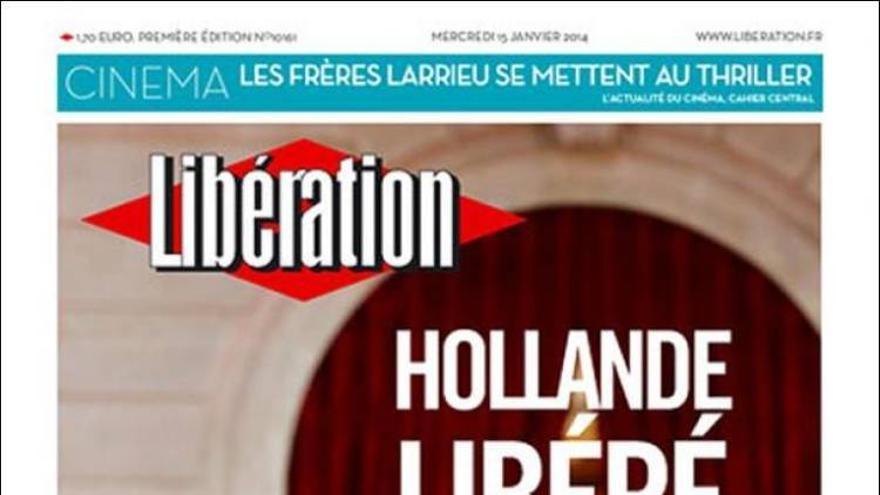 Portada de Libération del 15 de enero.
