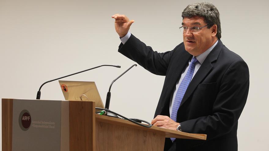 José Luis Escrivá, presidente de la Autoridad Fiscal Independiente. Foto cedida por AIREF