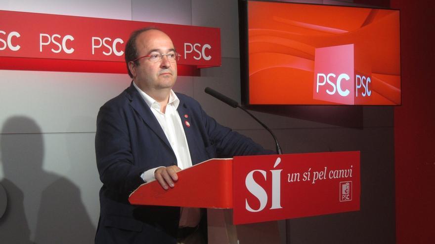 Iceta lanza este viernes su candidatura para liderar el PSC con apoyos de Ros y De Madre