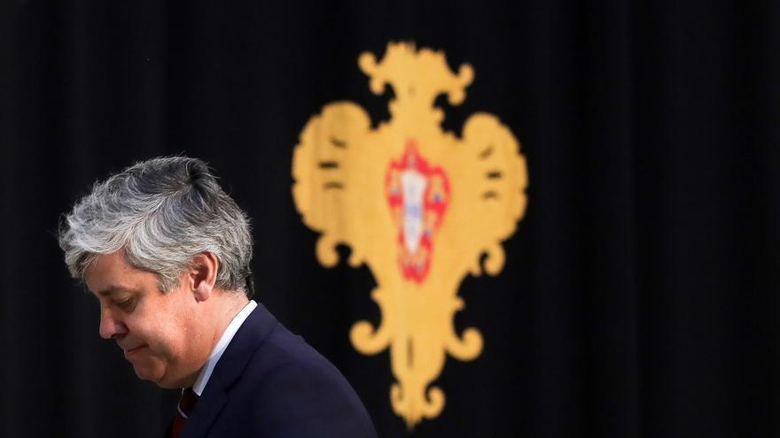El exministro de Finanzas de Portugal y presidente saliente del Eurogrupo, Mário Centeno.