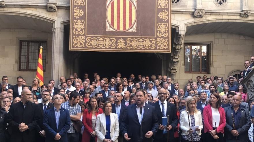 """Junqueras dice el referéndum es una votación sobre """"libertades fundamentales"""""""