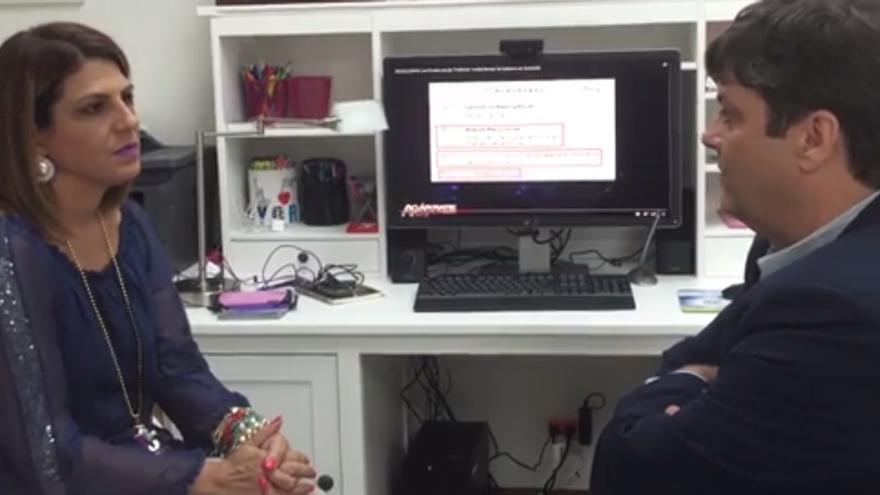 Patricia Poleo, en una entrevista con HispanoPost