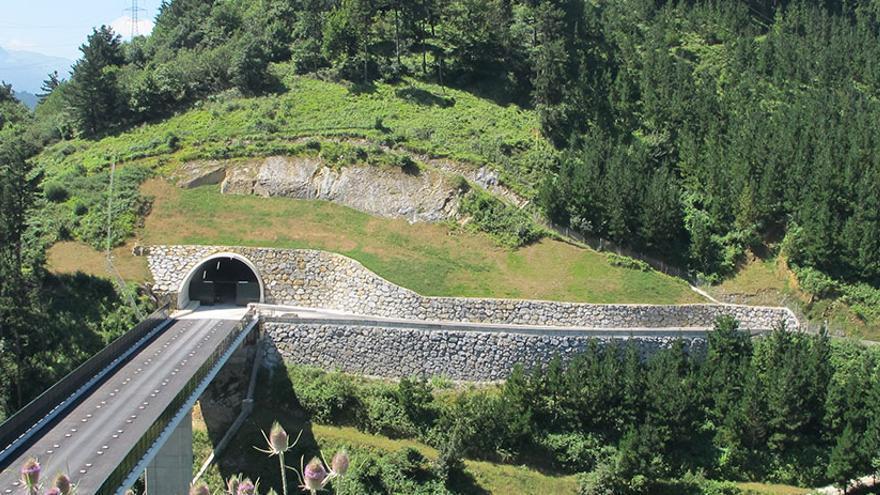 Un tramo guipuzcoano de la Nueva Red Ferroviaria del País Vasco