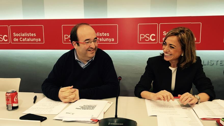 El homenaje del PSC a Chacón se hará en la Feria de Barcelona en Montjuïc el miércoles 19