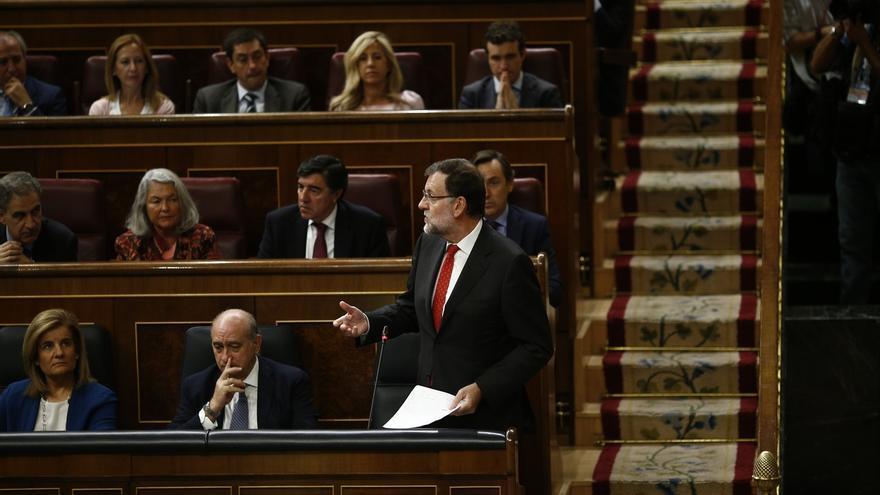 """Rajoy admite que el """"problema"""" catalán debe resolverse """"con finura y sin ansiedad en el futuro"""""""