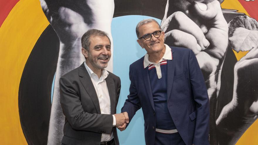 Manuel Borja-Villel, director del Museo Reina Sofía, y José Miguel G. Cortés, director del IVAM