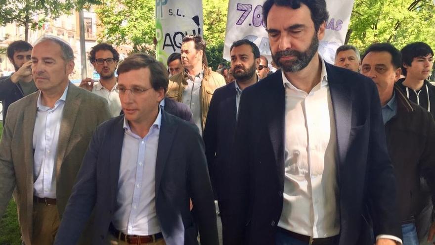 """Almeida insta a Carmena a desalojar La Ingobernable y le recrimina que """"haga caso omiso"""" de los servicios jurídicos"""