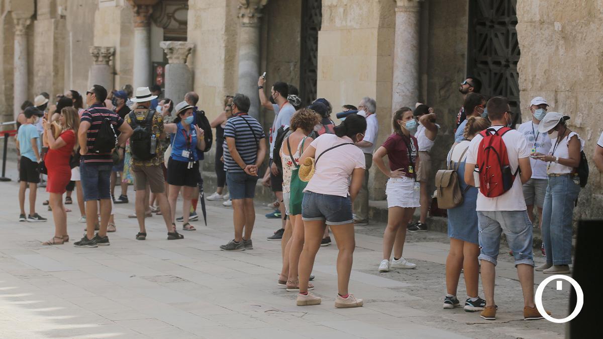 Turistas en Córdoba