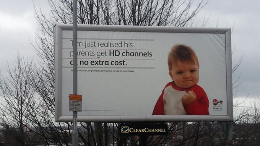 'Success Kid' ha protagonizado varias campañas publicitarias en EE.UU.