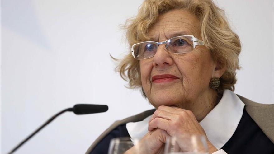 Carmena declara bienes por valor de 860.000 euros, la mitad en acciones
