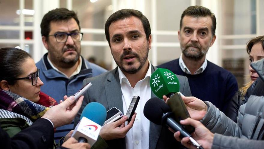 IU no descarta medidas judiciales por ingreso inmigrantes en cárcel Archidona