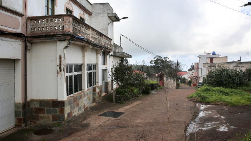 Albergue del Corvo en Moya, donde Cruz Roja tiene cedida la gestión para la atención humanitaria de emergencia de un grupo de personas que llegó a Gran Canaria en patera.