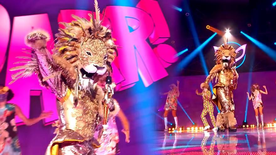 Georgina Rodríguez como León en 'Mask Singer'