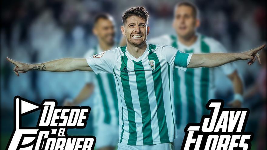 Javi Flores celebra un gol en El Arcángel | ÁLEX GALLEGOS