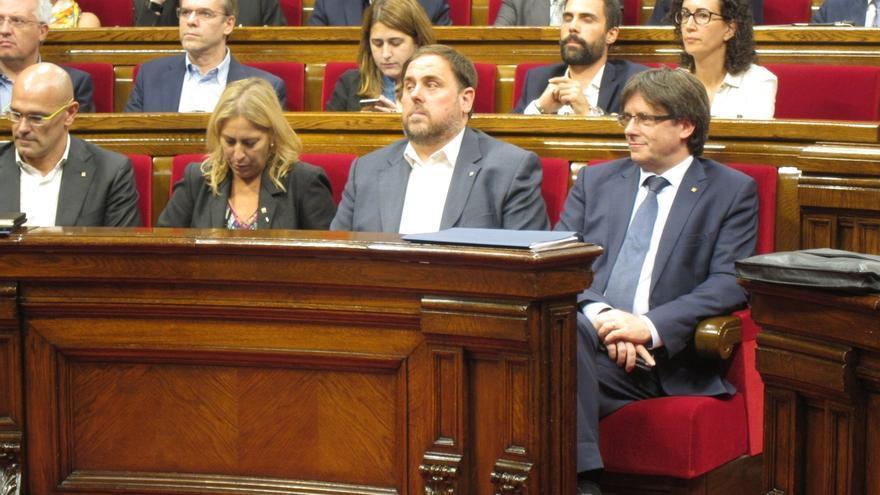 Junqueras y Puigdemont son los líderes mejor valorados y los únicos que aprueban según el CEO