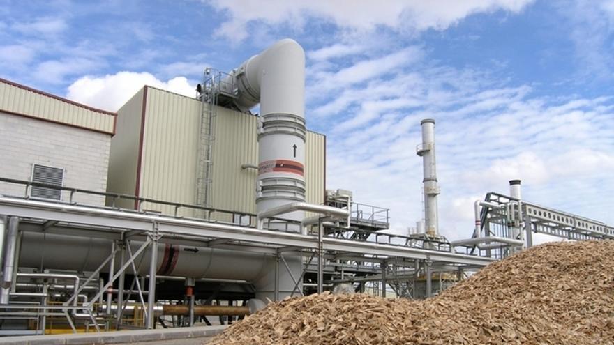 Planta de biomasa en Andalucía