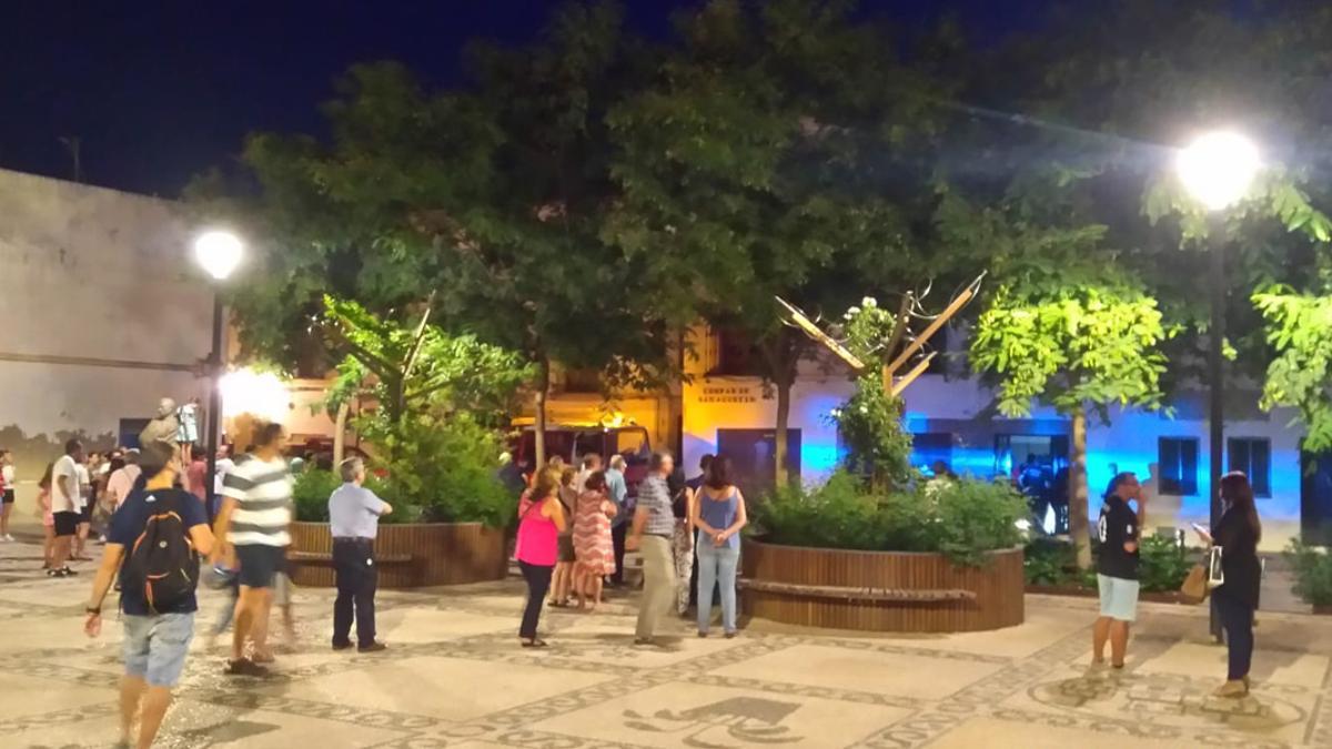 Plaza de San Agustín.