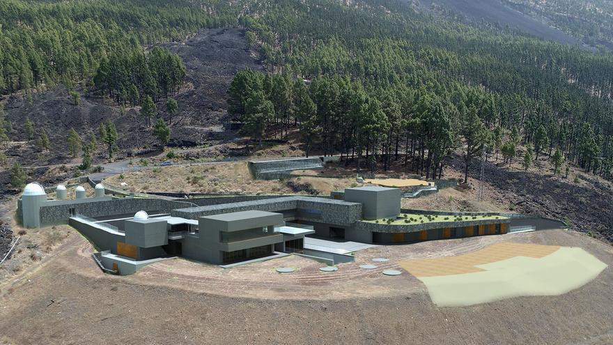 Recreación del futuro Centro Ambiental y Recreativo de Mendo, en El Paso.