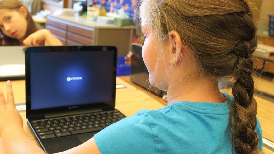 A los expertos en ciberseguridad les gusta que sus familiares, también los niños, usen ordenadores con Chrome OS (Imagen: Rachel Wente-Chaney | Flickr)