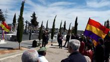 Homenaje a los ejecutados por el franquismo en el cementerio de Espinardo (Murcia)/ Víctor Peñalver