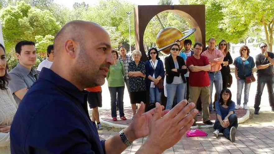 José García Molina, candidato a la presidencia de la Junta de Comunidades por Podemos. Foto: Podemos | Facebook