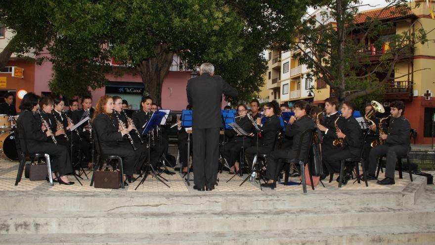 Imagen de archivo de la Banda de Música Nueva Esperanza.