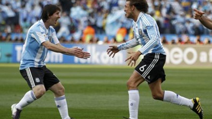 Argentina contra Nigeria