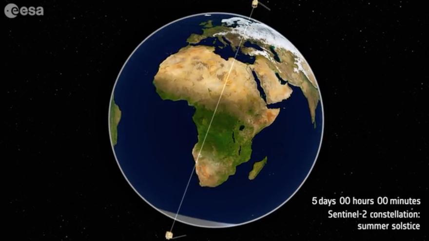 El de Orbital EOS es un proyecto de observación de la tierra.