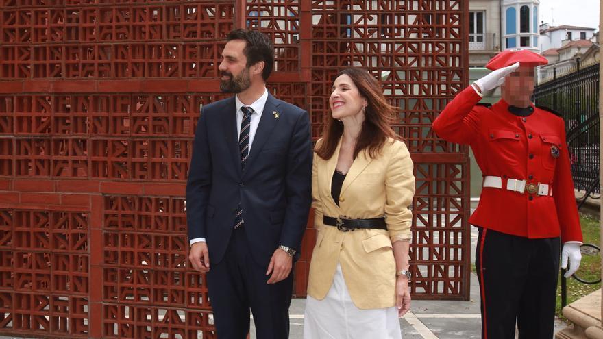 """Torrent reivindica en el Parlamento Vasco el """"diálogo político"""" como herramienta para resolver conflictos"""