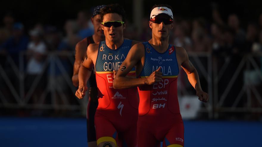 Españoles triatlon