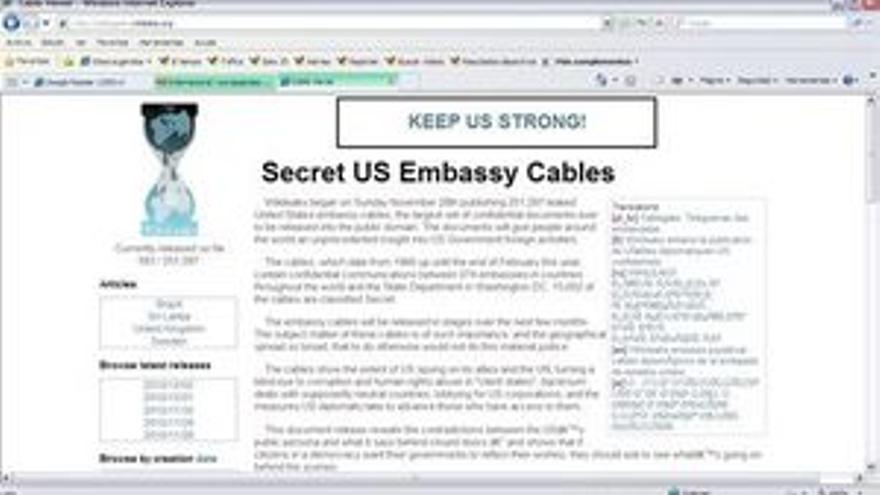 Wikileaks hace campaña para recaudar fondos