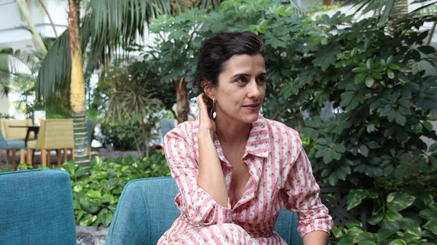 Olga Rodríguez, periodista y fundadora de eldiario.es Foto: Manolo de la Hoz