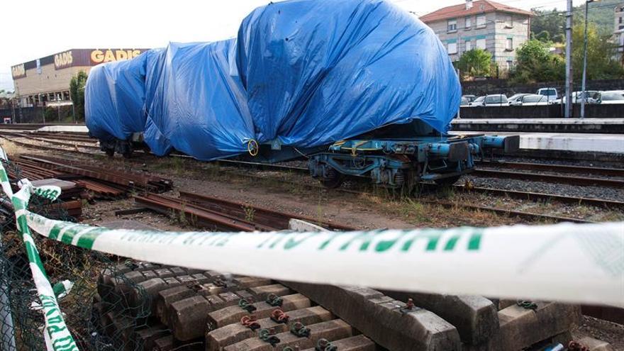 La jueza autoriza el traslado de los vagones del tren accidentado en Porriño