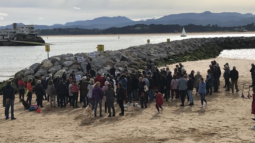 """'Salvar La Magdalena' espera que Quiñones sea """"correa de transmisión"""" para que se retire el espigón"""