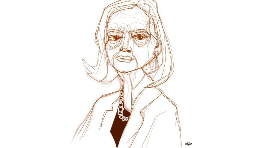 Ilustración de Josefina Aldecoa.   JORGE ORTIZ