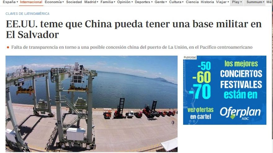 Base EEUU China