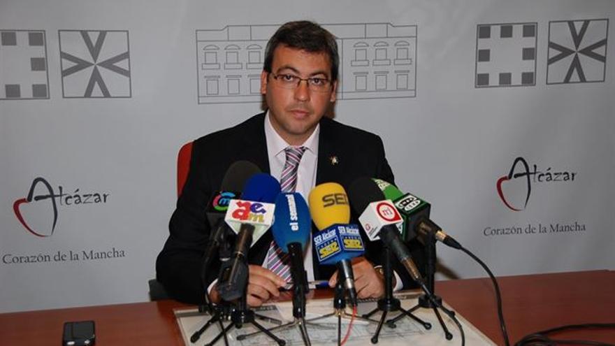 Diego Ortega, alcalde de Alcázar de San Juan / Foto: Europa Press