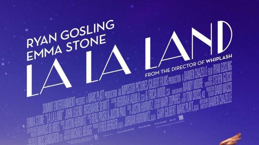 Cartel de 'La La Land'