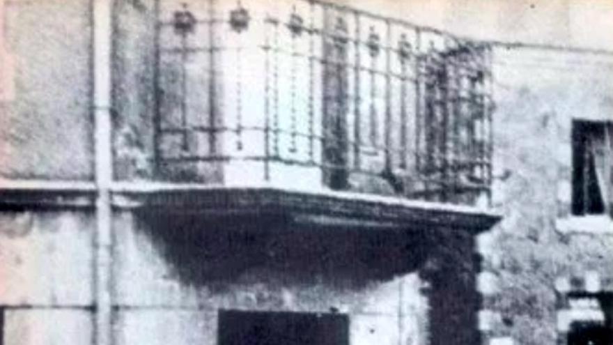 Uno de los vecinos ahorcados por los nazis en Tulle (Foto cortesía de Olga Mayans)