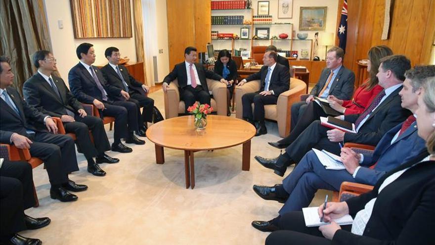 China y Australia firman una declaración de intenciones para un TLC bilateral