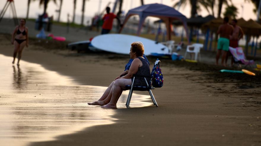 Playa de El Palo. Flickr, CC.