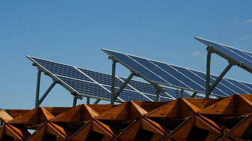 Paneles solares, en una imagen de archivo.