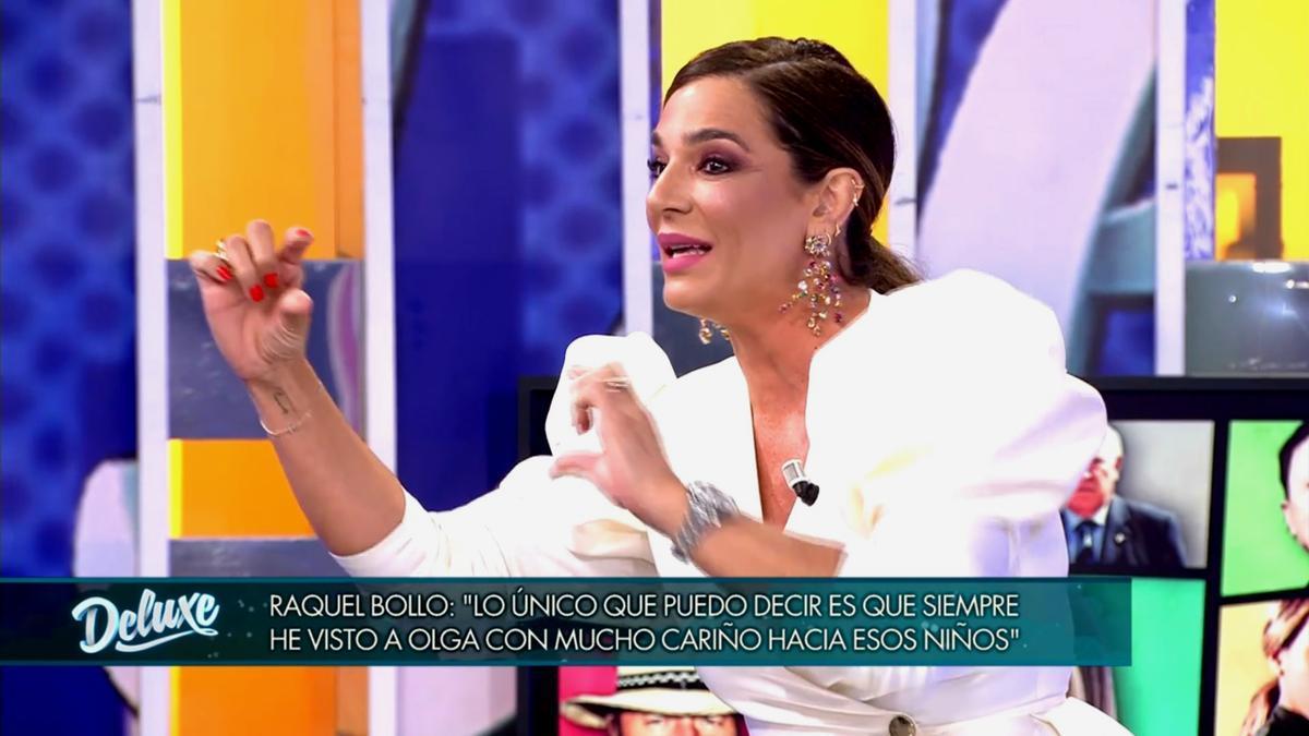 Raquel Bollo, en 'Sábado Deluxe'