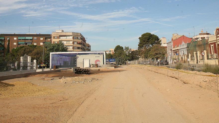 Estado de la parcela del Parque Lineal de Benimàmet