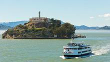 Todas las visitas a Alcatraz de realizan a través de Alcatraz Cruises.