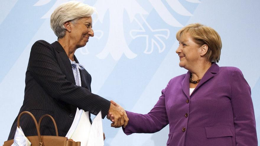 Merkel y Lagarde se reunirán en Berlín el próximo miércoles