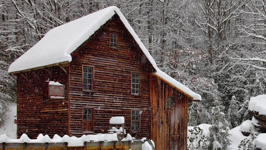 Calentar casa con chimenea el estar se delimit mediante - Calentar la casa ...